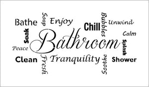 Bathroom Bathe Enjoy