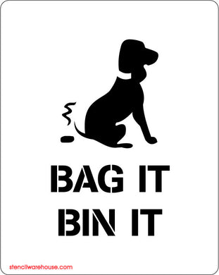 Dog Fouling - Bag It Bin It