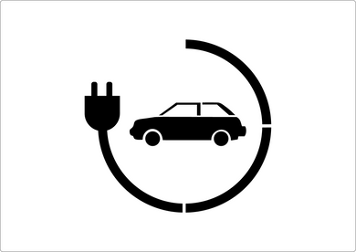 Electric Car Charging Stencil (3)