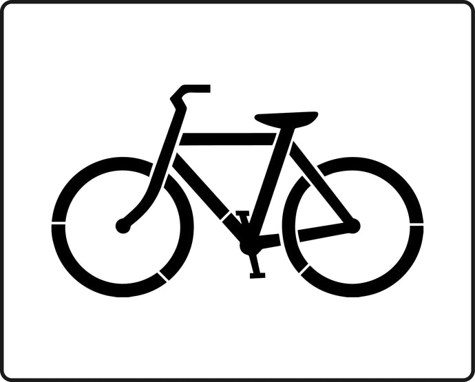 Cycle Lane sign stencil