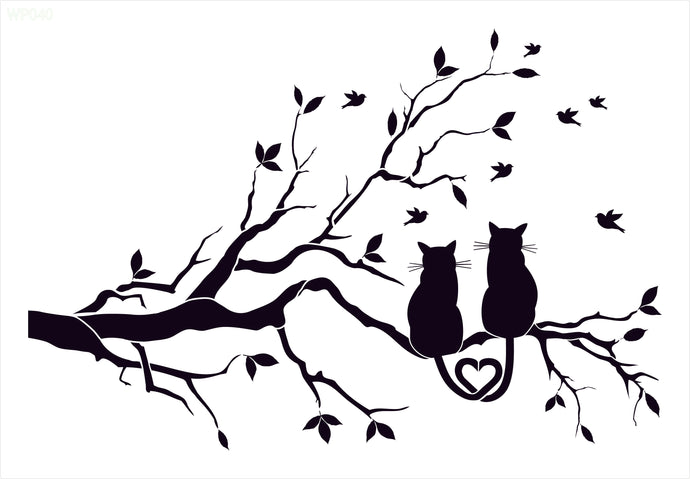 Two Cats In a Tree