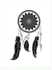 Dream Catcher Stencil