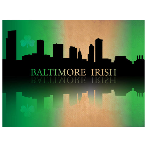 Baltimore Irish Premium Luster Unframed Print