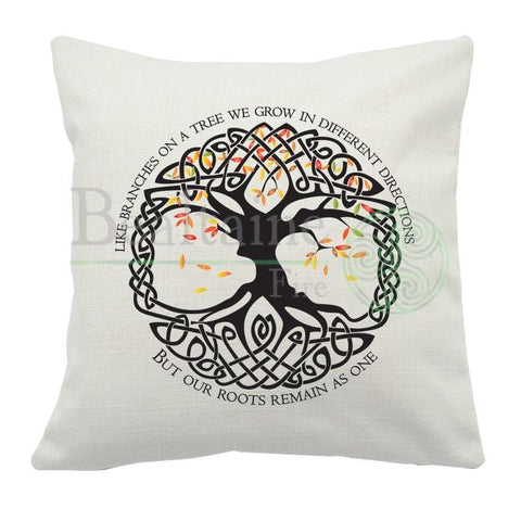 Celtic Tree with Saying