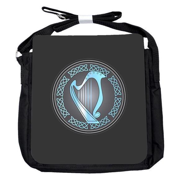 Small Harp Blue Bag