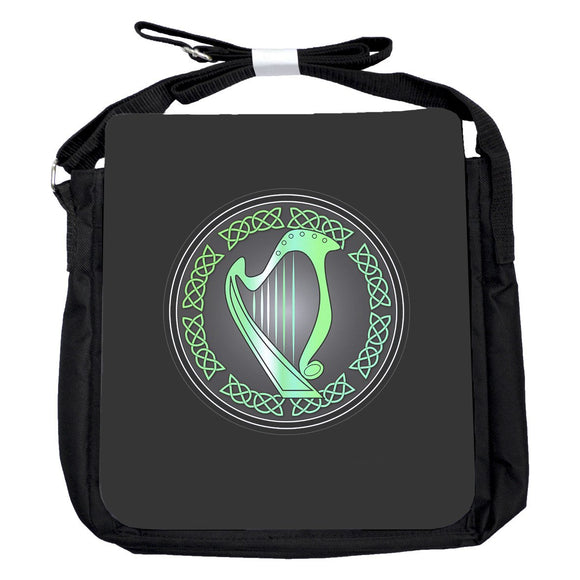 Small Harp Green Bag