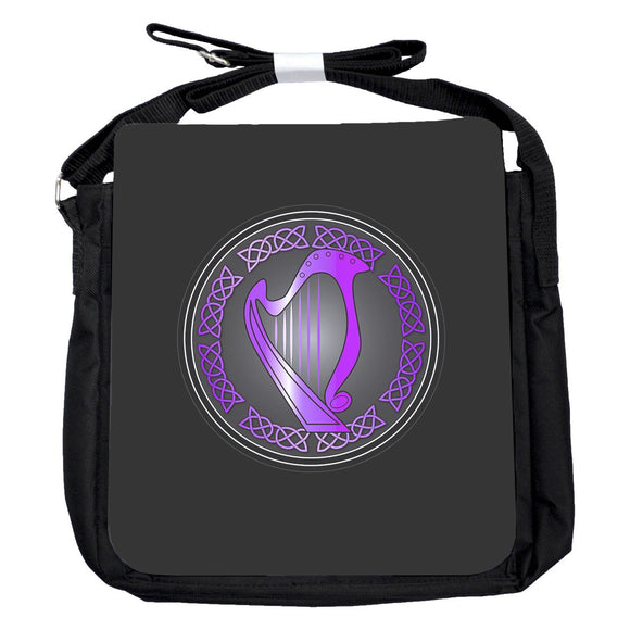 Small Harp Purple Bag