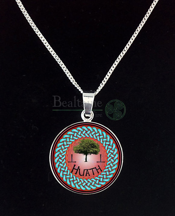 6. Silver Huath - Hawthorn May 13 To Jun 9 Red Pendant