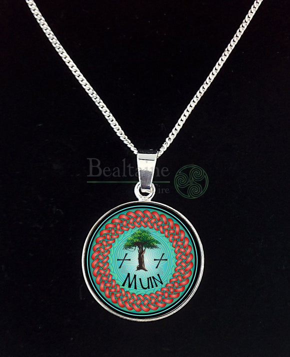 10. Silver Muin - Vine Sep 2 To 29 Turquoise Pendant