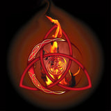 Samhain Fire 8In / With Text Print