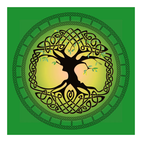 Summer Tree of Life Premium Luster Unframed Print