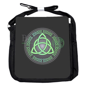 Small Triquetra Green Bag