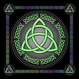 Triquetra (5 Colours) 8In / Green Print