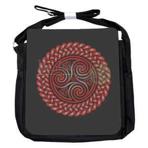 Small Triquetra Triskele Dark Red Bag
