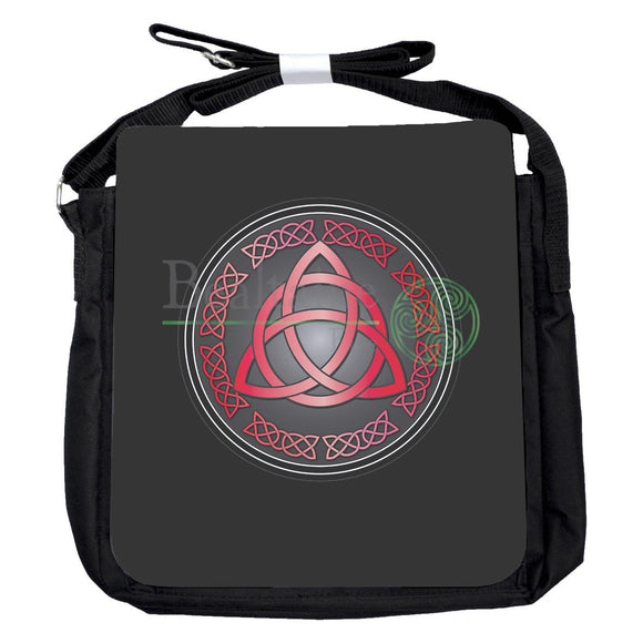 Small Triquetra Red Bag