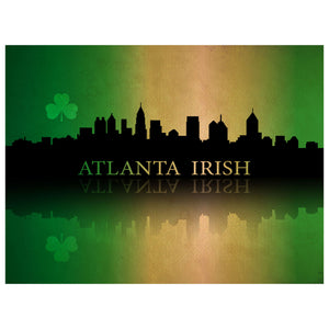 Atlanta Irish Premium Luster Unframed Print