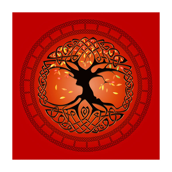 Autumn Tree of Life Premium Luster Unframed Print