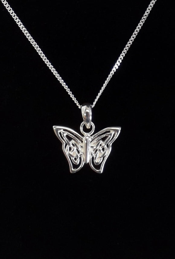 Sterling Silver Celtic Butterfly Silver Jewellery