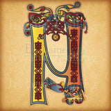Illuminated Letters Framed Print