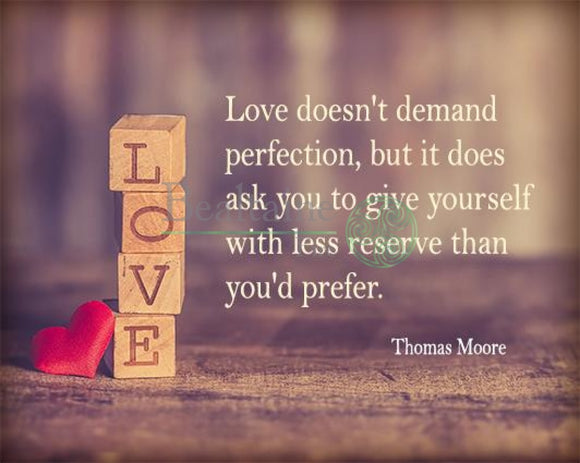 Love Doesnt Demand Perfection