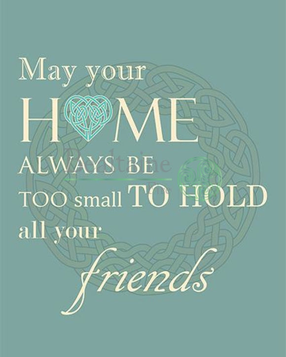 May Your Home Always Be (Blue) Pdf