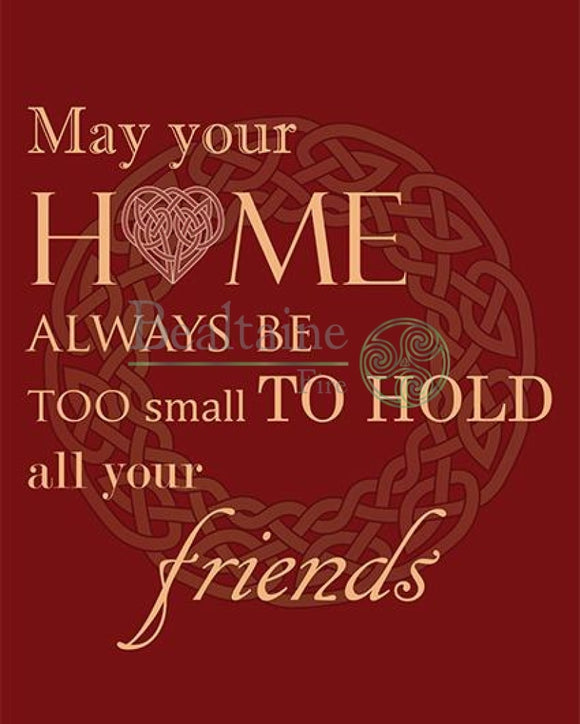 May Your Home Always Be (Red) Pdf