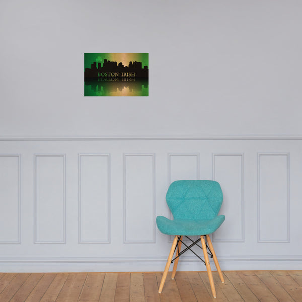 Boston Irish Premium Luster Unframed Print