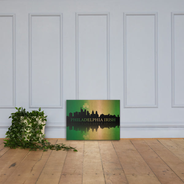 Philadelphia Irish on Canvas