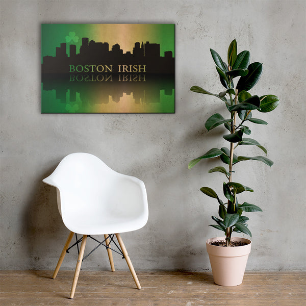 Boston Irish on Canvas