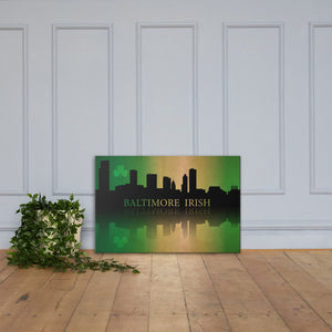Baltimore Irish on Canvas
