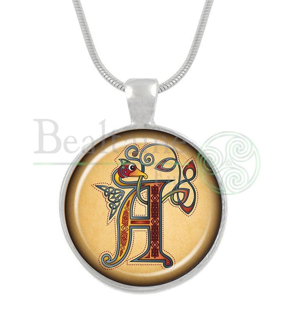 Illuminated Letters A-Z A / 16In Pendant
