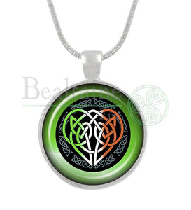 Celtic Heart 16In Pendant