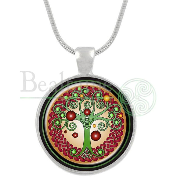 Lugnasadh Tree Of Life Pendant