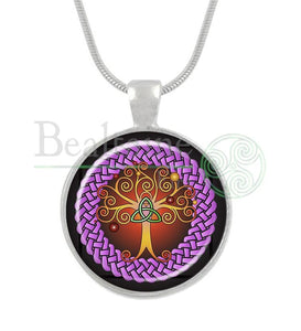 Samhain Tree Of Life 16In Pendant