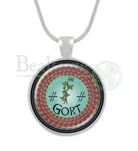 11. Gort - Ivy September 30 To October 27 Red / 16In Pendant
