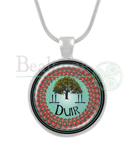 7. Duir - Oak June 10 To July Red / 16In Pendant