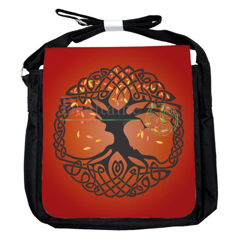 Small Autumn Tree Of Life Bag
