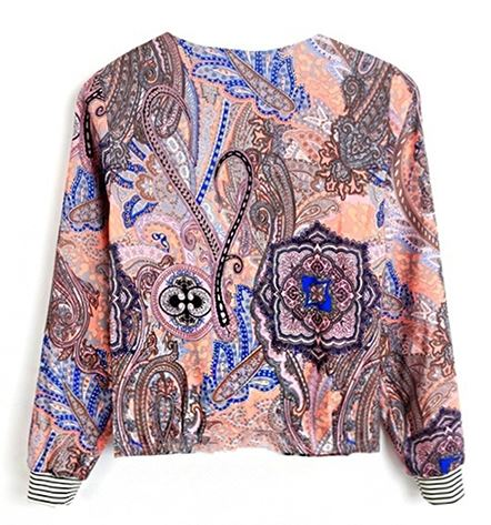 Veste zippée collection 2019.