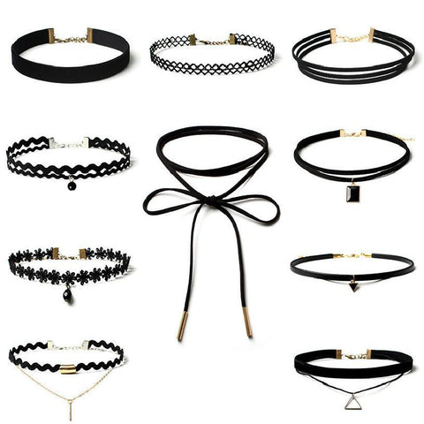 10 COLLIERS CHOKERS ! - HEXAGONE AVENUE