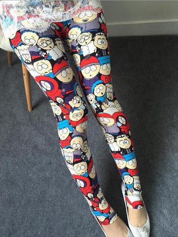 Legging imprimé dessins animés