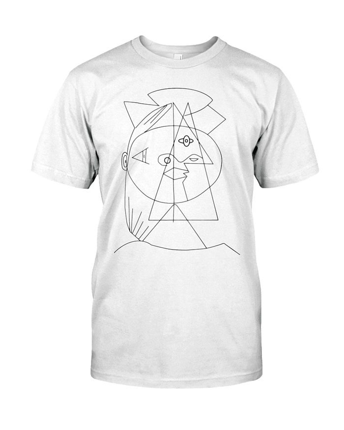 Picasso Cubic Unisex Tee - Heartsi Co