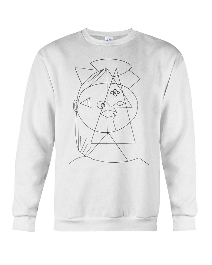 Picasso Cubic Sweatshirt - Heartsi Co