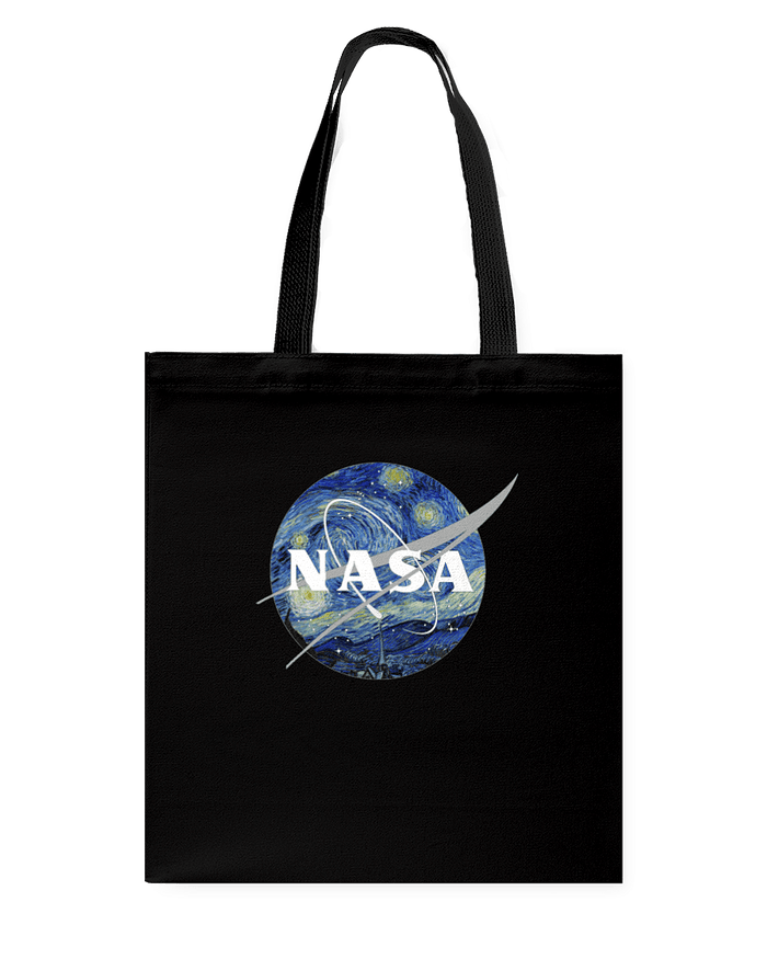 NASA Van Gogh Tote Bag - Heartsi Co
