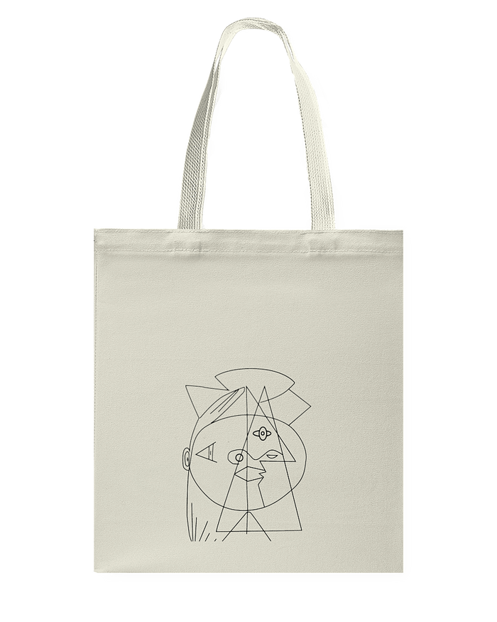 Picasso Cubic Tote Bag - Heartsi Co