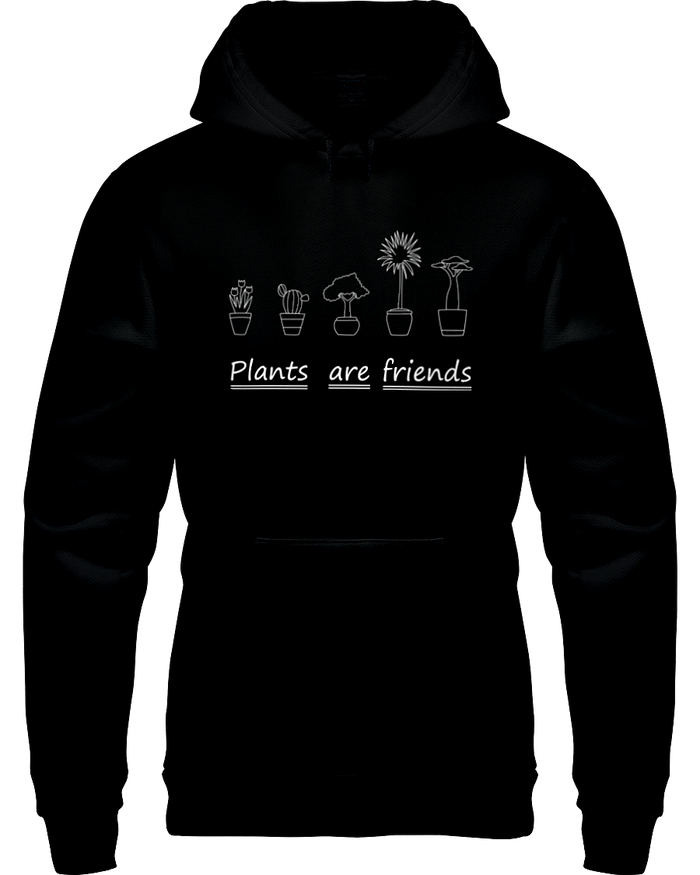 Plants Are Friends Hoodie - Heartsi Co