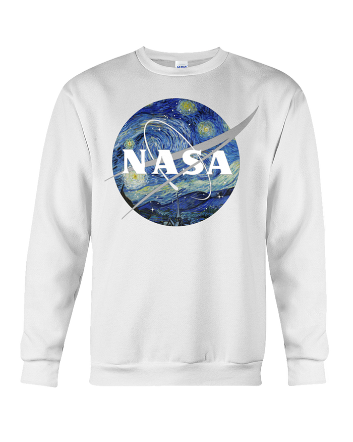 NASA Van Gogh Sweatshirt - Heartsi Co