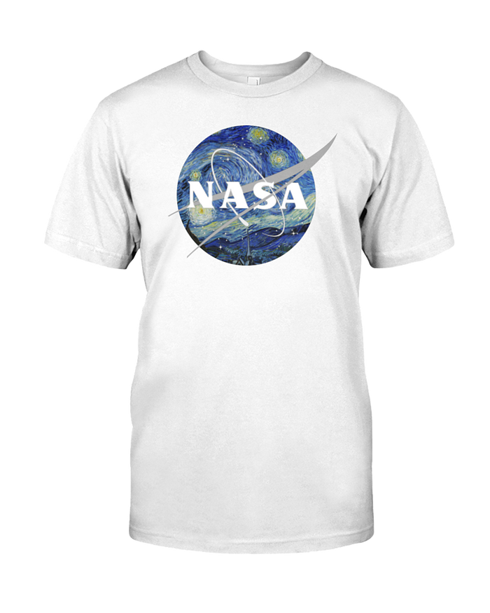 NASA Van Gogh Unisex Tee - Heartsi Co
