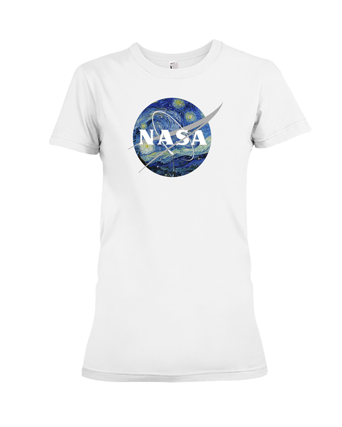 NASA Van Gogh Womens Tee - Heartsi Co