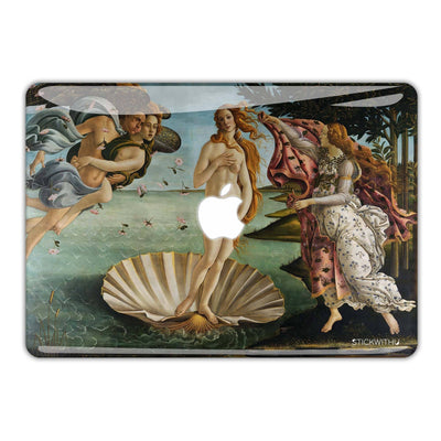 Birth of Venus Macbook Skin