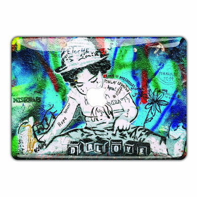 Banksy Graffiti Macbook Skin - Heartsi Co